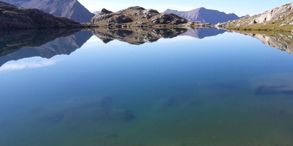 Lac des Pisses © Parc national des Ecrins, Clotilde SAGOT